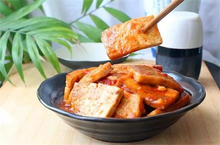 茄汁烧豆腐