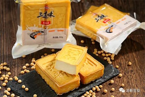 """法新豆腐""""亮相""""第二届中国—非洲经贸博览会"""